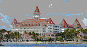 Walt Disney World Florida Art - Grand Floridian in Summer by David Lee Thompson