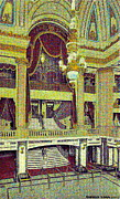 Chicago Il Paintings - Grand Foyer Of The Chicago Theatre In Chicago Il by Dwight Goss