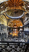 Seraphim Angel Prints - Grand Hagia Sophia Print by Sarah E Ethridge