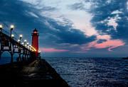 Rod  Arroyo - Grand Haven Lighthouse -...