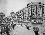 Grand Hotel On Mackinac Island Print by Jason Sotzen