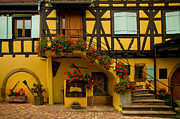 Alsace Prints - Grand House Print by John Galbo