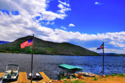 Colorado Flag Photos - Grand Lake Afternoon by Randy Aveille