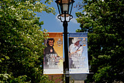 Country Music Photos - Grand Ole Opry Flags Nashville by Susanne Van Hulst