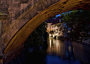 Charles Bridge Photo Acrylic Prints - Grand Priory Water Mill   Prague Acrylic Print by Jon Berghoff