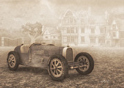 Grand Prix Racing Car 1926 Print by Jutta Maria Pusl