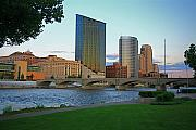 Sky Line Framed Prints - Grand Rapids Mi-3 Framed Print by Robert Pearson