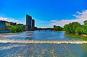 Lake Photographs Framed Prints - Grand Rapids Mi- 8 Framed Print by Robert Pearson