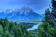 Nez Perce Prints - Grand Teton National Park - Snake River Overlook -  Print by Gary Whitton