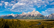 High Resolution Prints - Grand Teton Vista Print by Adam Pender