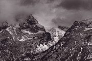 Grand Teton Framed Prints - Grand Tetons Framed Print by Steve Gadomski