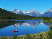 Lakes Digital Art - Grand Tetons by Vijay Sharon Govender