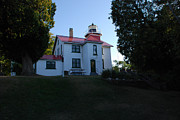 Traverse Bay Photos - Grand Traverse Lighthouse by Grace Grogan