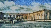 Grand Trianon Print by Aaron Stokes