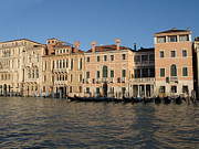 Venise Photos - Grande canal. Venice by Bernard Jaubert