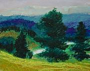 Rural Landscapes Pastels - Grandfather by Wynn Creasy