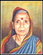 Artist Vivekananad Patil - Grandmaa