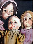 Old Toys Originals - Grandmas Dolls by Gail Zavala