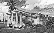 Restoration Digital Art Prints - Grandmas Home sketch version Print by Steve Harrington