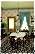 Living Room Digital Art Posters - Grandmas House Poster by Julie Palencia