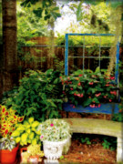 Garden Scene Photos - Grandmothers Dream by Laura Brightwood