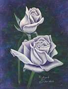 Floral Pastels Originals - Grandmothers Prize by Richard Van Order