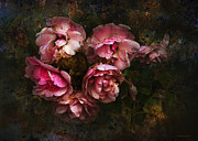 Grandmother's Roses Print by Ron Jones