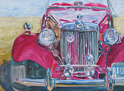 Antique Automobile Originals - Grandpas Toy by Jenny Armitage