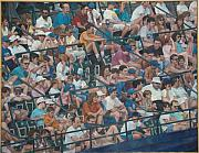 James Sparks Paintings - Grandstand Mosaic by James Sparks