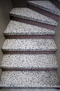 Patterned Posters - Granite Stairs Poster by Sam Bloomberg-rissman