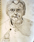 San Francisco Drawings - Granny Irene Ryan Beverly Hillbillies Best Actress Emmy 1963 by Donald William