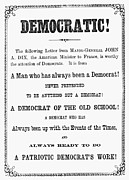 Pamphlet Posters - Grant: Election Of 1868 Poster by Granger