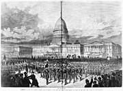 Inauguration Photos - Grants Inauguration, 1873 by Granger