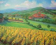Grape Vines Originals - Grape country. by Julia Utiasheva
