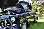 Clayton Framed Prints - Grape Fully Blown PIckup Framed Print by Clayton Bruster