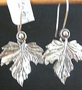 French Jewelry Originals - Grape Leaves by Joan  Jones