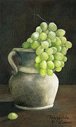Gouache Paintings - Grape by Margarita Levina