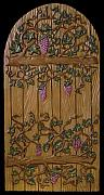 Grape Vines Reliefs - Grape Vine Door by Guillaume Guy