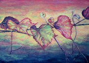 Grape Vineyard Originals - Grape Vine by Judy Kirouac