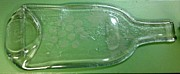One Of A Kind Glass Art - Grape Vine Tray by Hartz