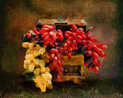 Grapes Paintings - Grapes Still Life by Jai Johnson