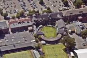Dock - Grass Tennis Hall of Fame 194 Bellevue Ave Newport RI 02840 3586 by Duncan Pearson