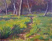 Grassy Print by Sharon Weaver