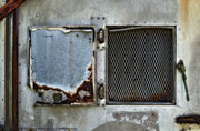Grate Photo Metal Prints - Grated Door Metal Print by Murray Bloom
