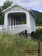 Photographs Digital Art - Grave Creek Bridge by Methune Hively