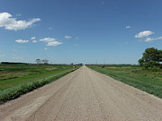 Gravel Road Photos - Gravel Road to Nowhere by Brian  Maloney