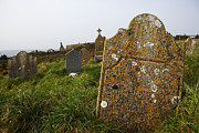 Urban Scenes Prints - Gravestones At An Old Cemetery Print by Pete Ryan