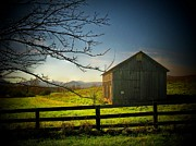 Northern Virginia Photos - Gray Mountain Barn by Joyce  Kimble Smith
