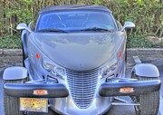 Classic Car.hot-rod Photos - Gray Plymouth Prowler Shines by Pictures HDR