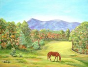 Horse Race - Grazing by Pauline Ross